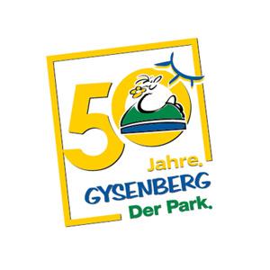 Jubiläumslogo Gysenbergpark